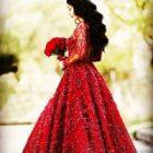 Kırmızı Gelinlik Giymek